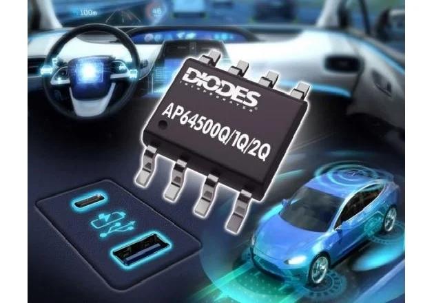 二极管公司的汽车标准,40V, 5A,同步降压转换器提供高效率