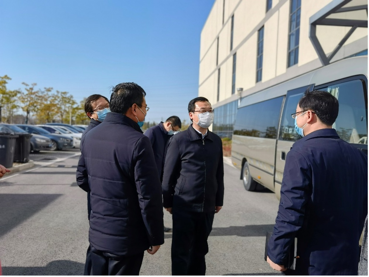 南通市委常委、區委書記劉浩率隊赴江蘇涵潤走訪慰問