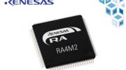 贸泽电子开售Renesas Electronics,面向物联网的超低功耗RA4M2 MCU