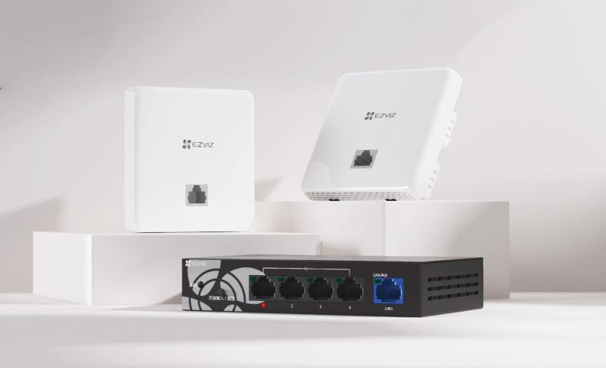 """網速慢如蝸牛?螢石AC+AP無線網絡覆蓋方案讓你""""快到飛起"""""""