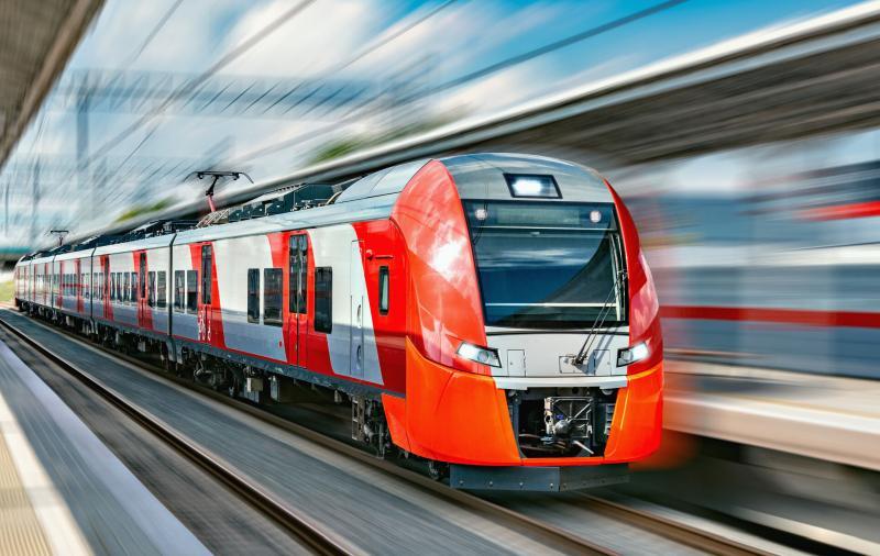 地铁和高铁的电力线的构成回路