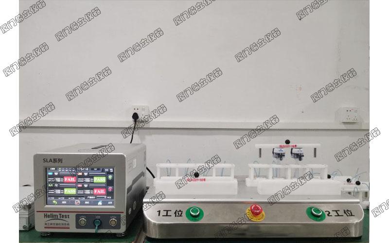 厦门希立医疗穿刺器气密性防水检测设备的案例展示