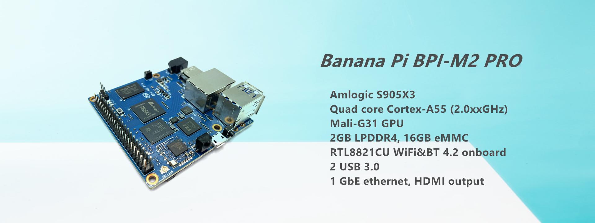 香蕉派BPI-M2的相关参数