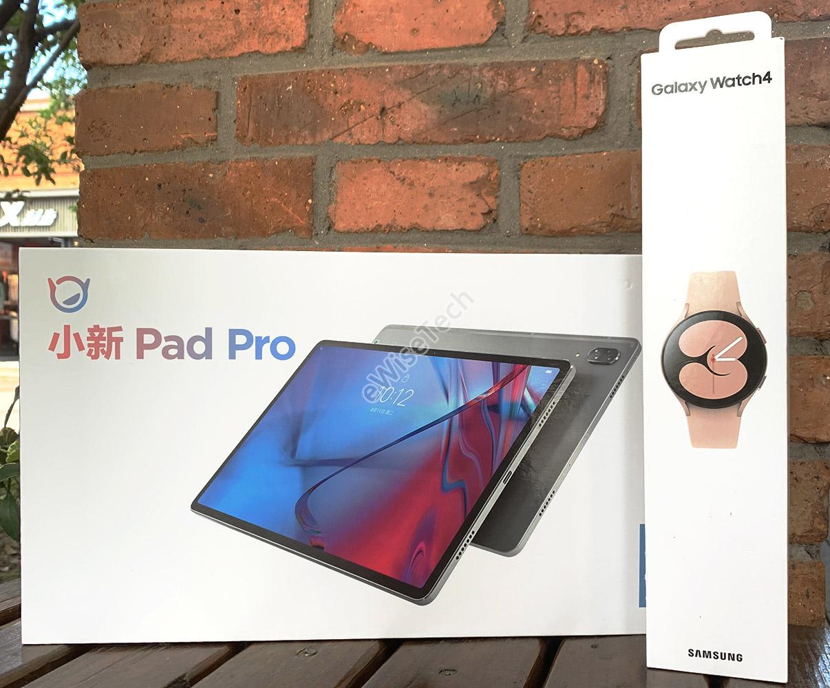 联想小新Pad Pro&三星Galaxy watch 4开箱体验