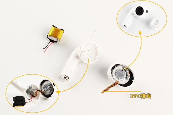 高仿的AirPods Pro拆解:拆解过程非常简单