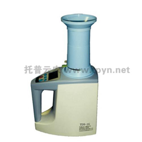 关于谷物水分测量仪主机系统的操作详解
