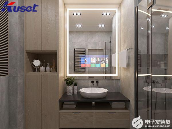 智能镜子KS1522的作用,它可将家居设备进行一...