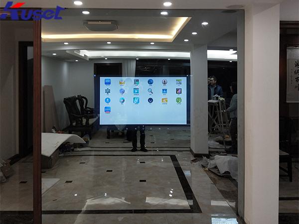 智能镜面显示屏将成为科技型智能家居的标配
