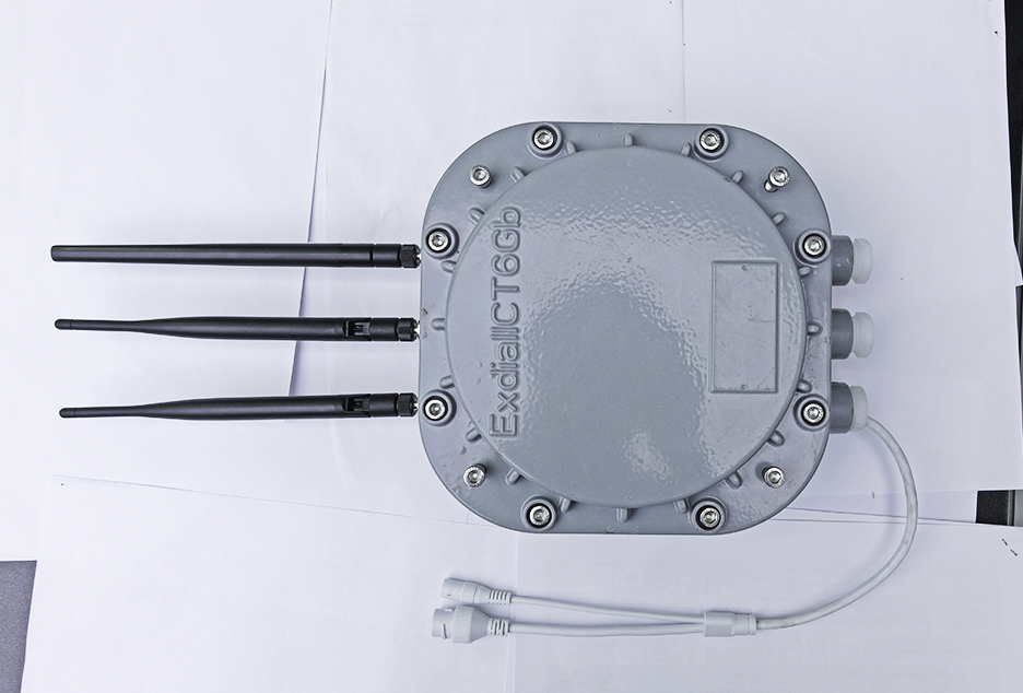 隔爆型的蓝牙网关VDB2613可应用于煤矿井下和...