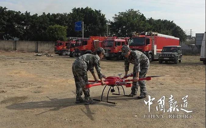 科比特无人机的应用大大提高了应急救援的作战能力