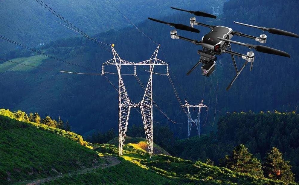"""无人机在推动电力行业""""工业4.0""""进程中发挥着重..."""