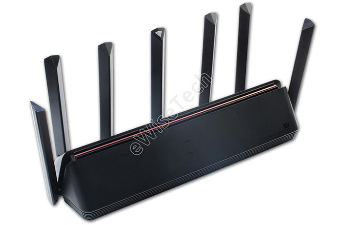 小米aiot路由器ax3600拆机评测 7根智能AIoT天线的WiFi6路由 搭载高通IPQ8071A