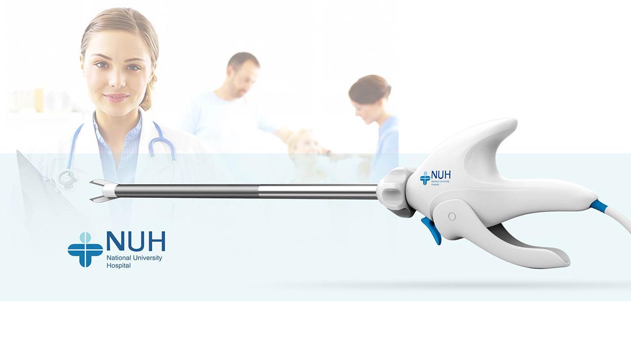 造型简约精致手术剪刀设计,操作更加安全简便