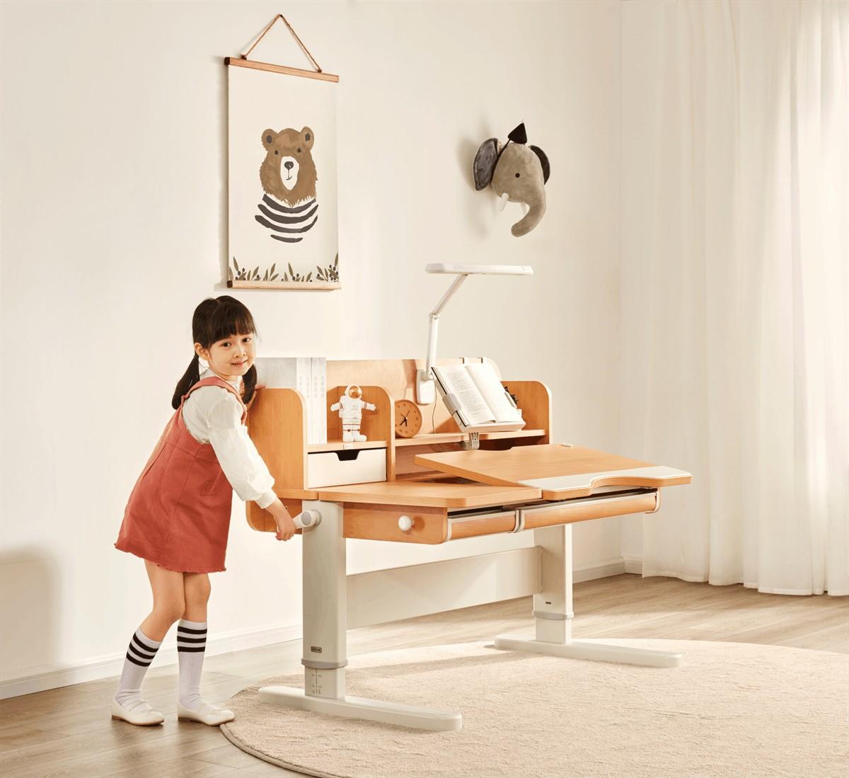 儿童学习桌如何选购,推荐实力品牌光明园迪