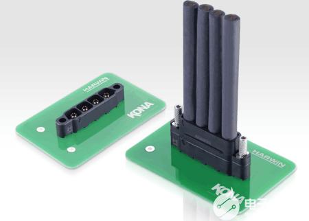 Harwin最新发布了60A额定电流、8.5mm间距电源的连接器