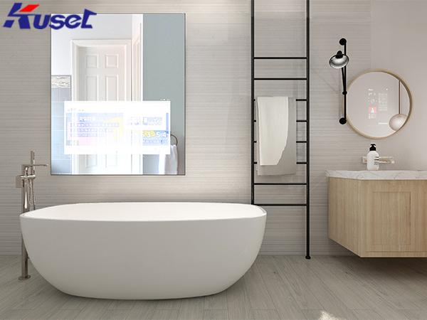智能镜子的应用让家居系统实现了智能化的升级