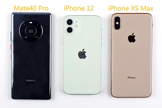 华为Mate40 Pro iPhone12 iPhone XS Max三款手机拍照谁更胜一筹?