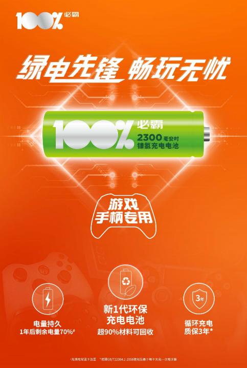 "GP超霸全新子品牌""100%必霸""全面发力推出新品"