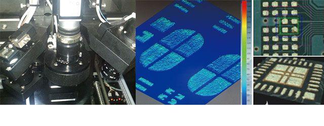 压电纳米定位台在锡膏厚度检测中的应用