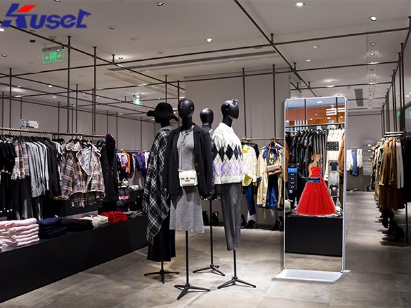 体感试衣镜解锁虚拟智能试衣,给购物带来一种新体验