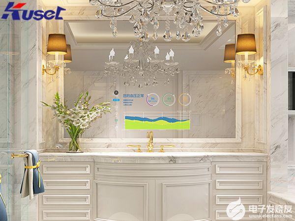 智能镜面显示屏有多智能,它能一键智能控制家居系统