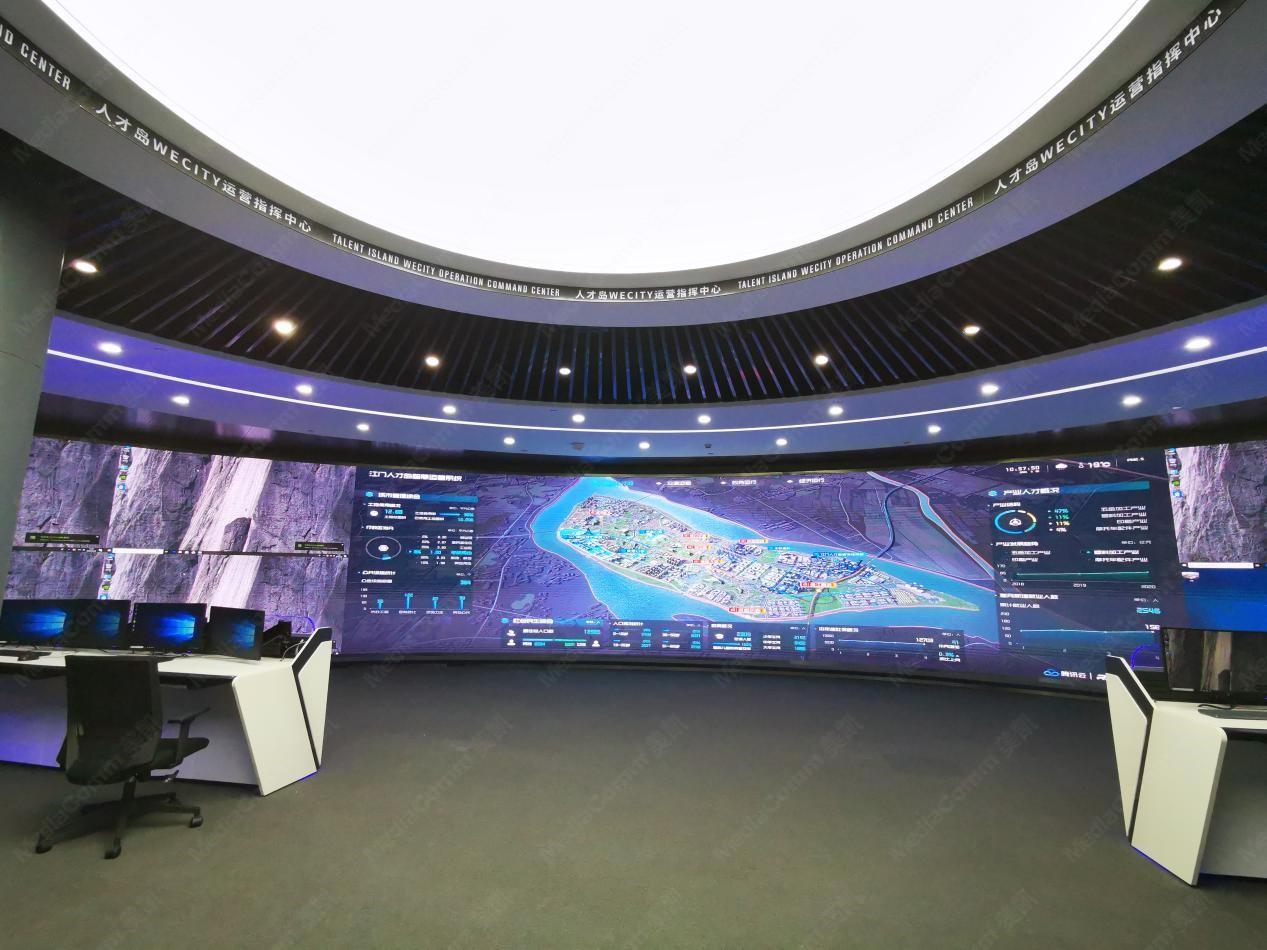 分布式非IP光纤拼接技术在大屏拼接显示行业的创新应用