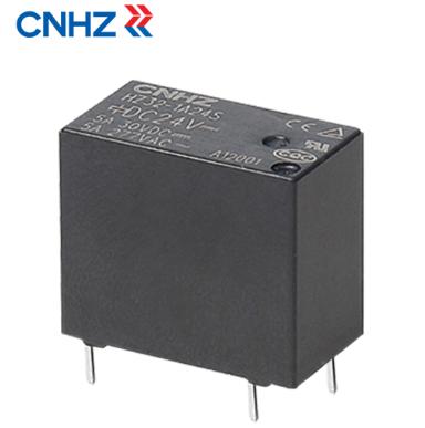 小型继电器触点的三种基本结构形式是怎样的