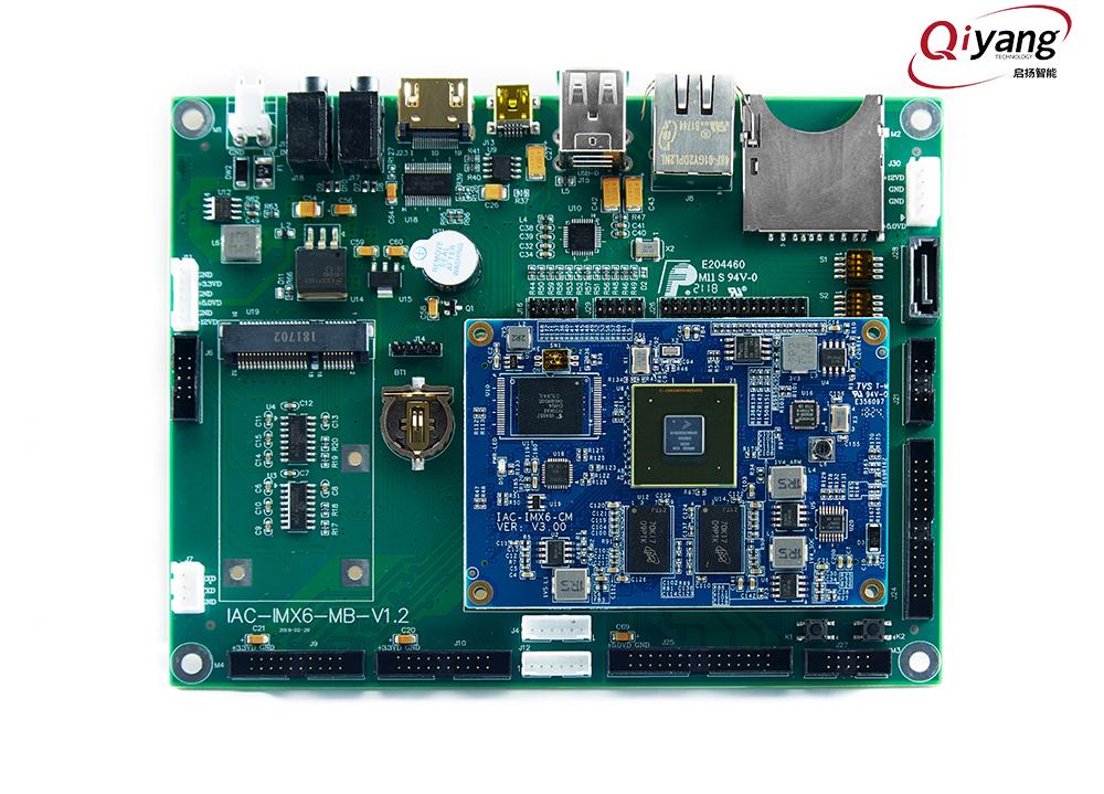 基于NXP I.MX6Cortex-A9系列处理器的启扬智能IAC-IMX6-KIT开发板介绍