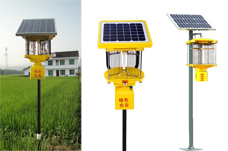 利用频振式杀虫灯来治理农业害虫,其效果怎么样