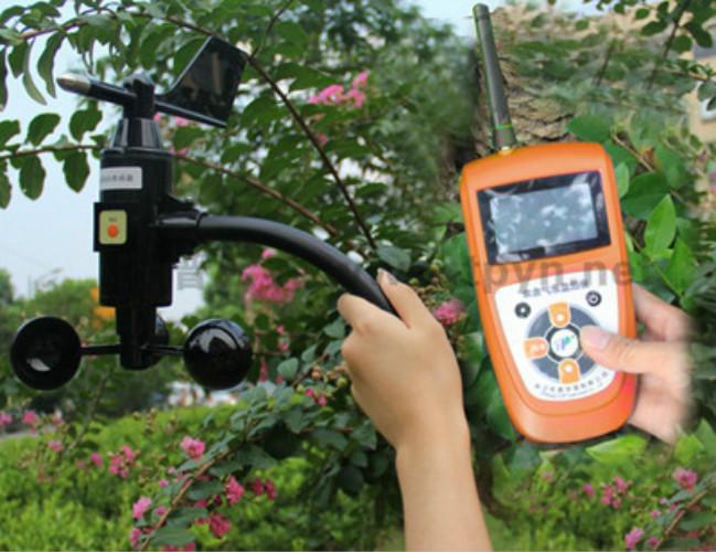 通过风速风向记录仪来研究风的变化情况