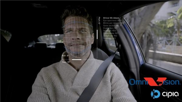 Cipia携手豪威科技合作开发首个量产驾驶员监控解决方案