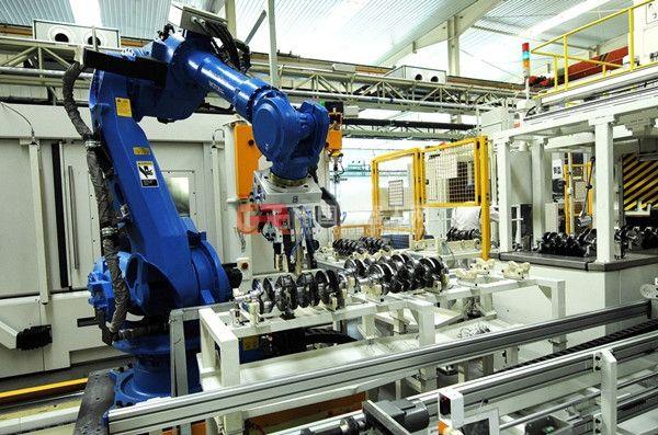 关于RFID读写器在机械手生产框架中的应用