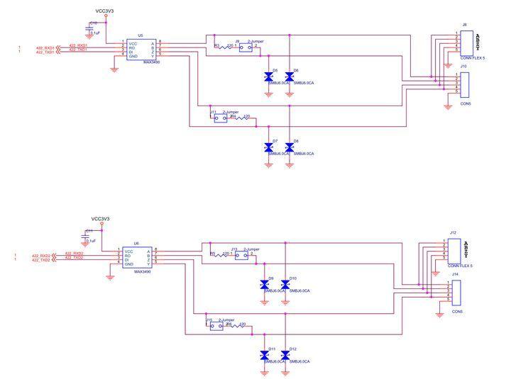【ZYNQ Ultrascale+ MPSOC FPGA教程】第十二章RS422實驗