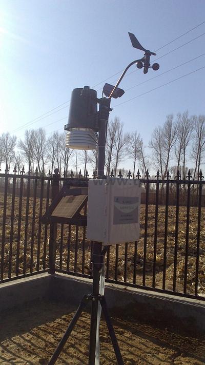关于土壤墒情监测系统搭配传感器的效果介绍
