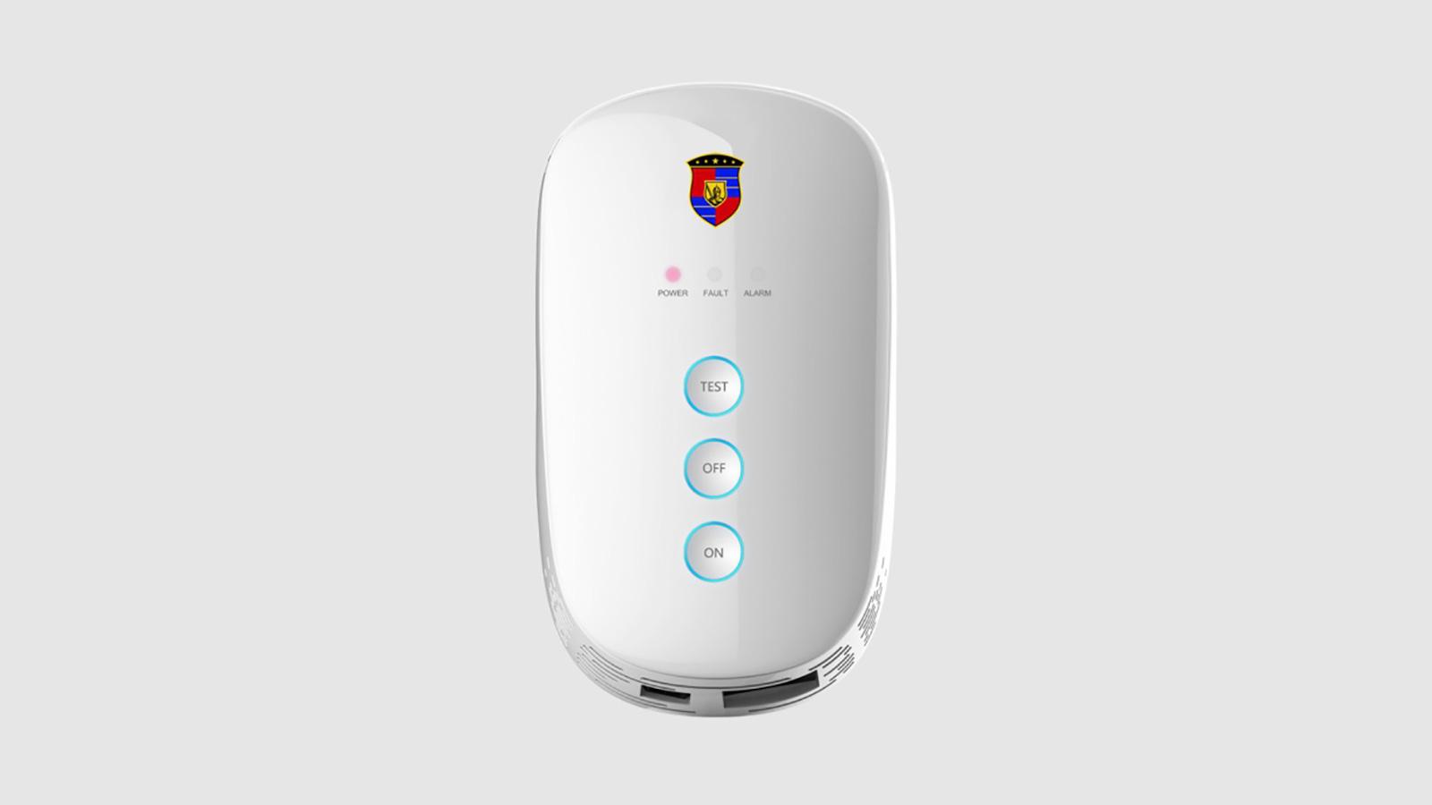煤气报警器功能按键设计简便易懂,方便用户操作