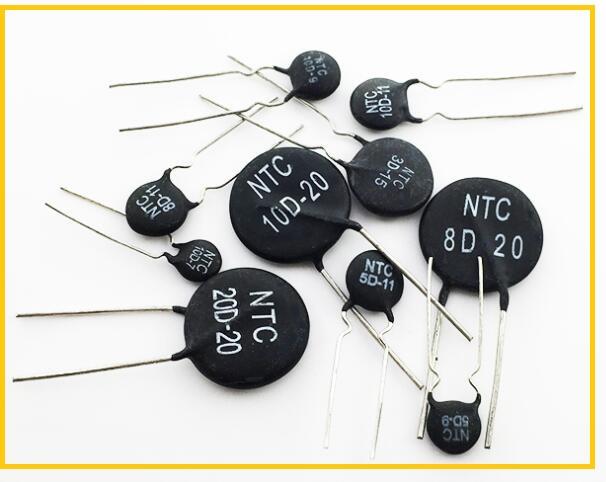 NTC热敏电阻在浪涌吸收、温度测温、温度补偿三种作用