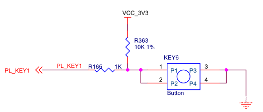 【ZYNQ Ultrascale+ MPSOC FPGA教程】第九章Vivado下按键实验