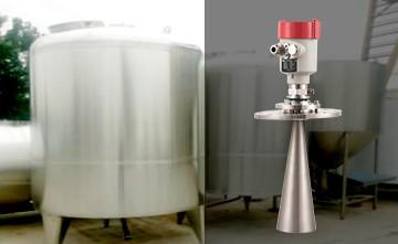 雷达液位传感器在蒸发釜中可用于液位测量