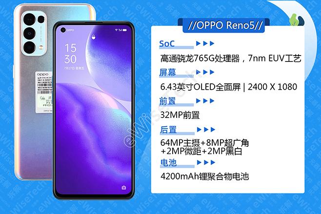 oppo reno5怎么样值得买吗?opporeno5性价比怎么样?oppo reno5拆解评测参数配置