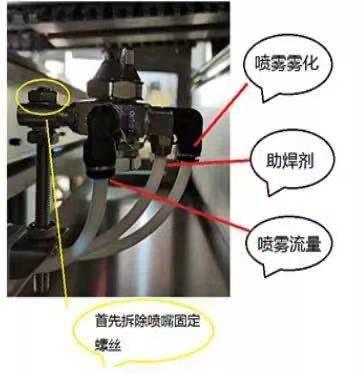 助焊剂的喷头堵了怎么办,可有什么处理方法