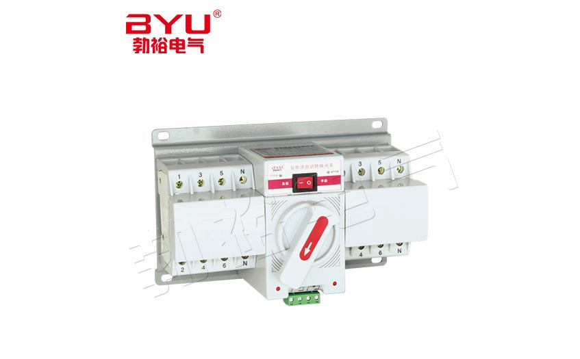双电源自动转换开关规范可分成为两大类