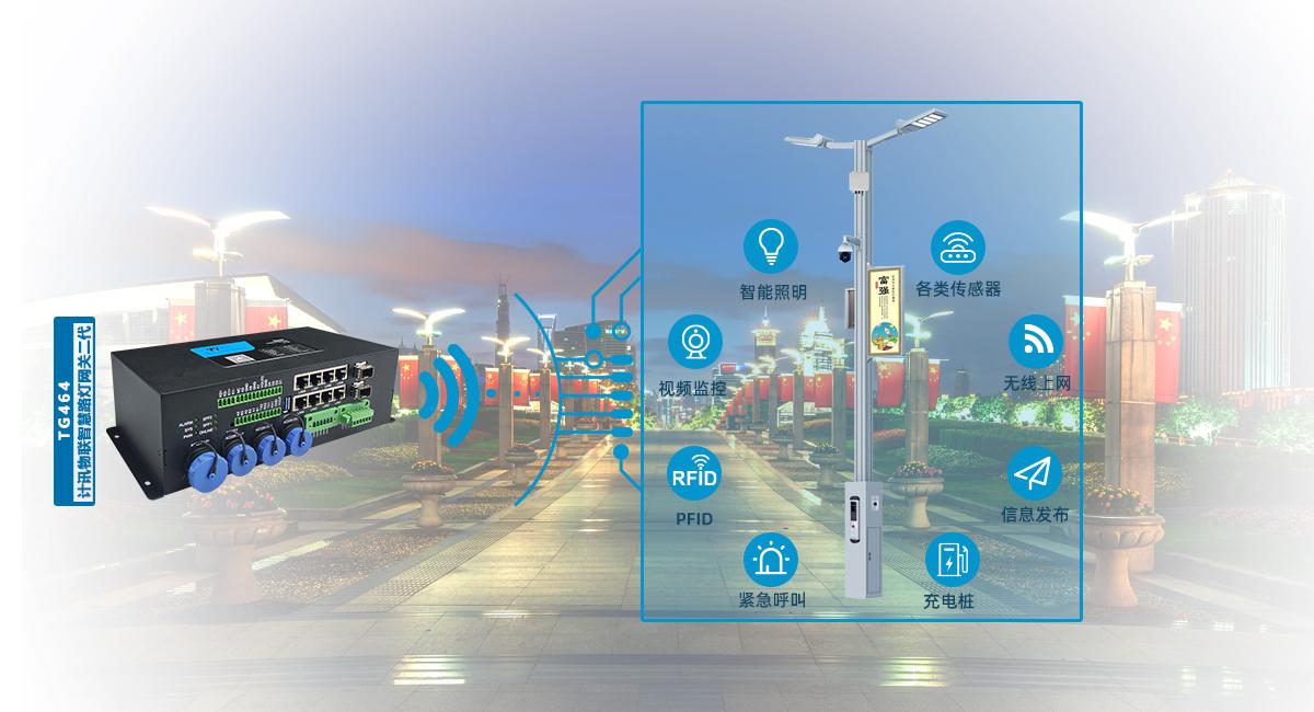 智慧路灯杆助力创造一个智慧安全的科技城