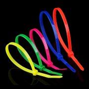 关于尼龙扎带与铁芯束线带和束线的运用差别