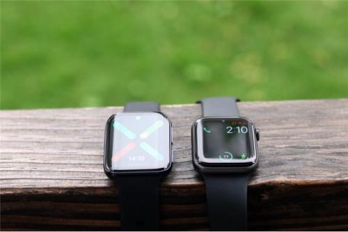 与Apple Watch相比,OPPO智能手表好不好