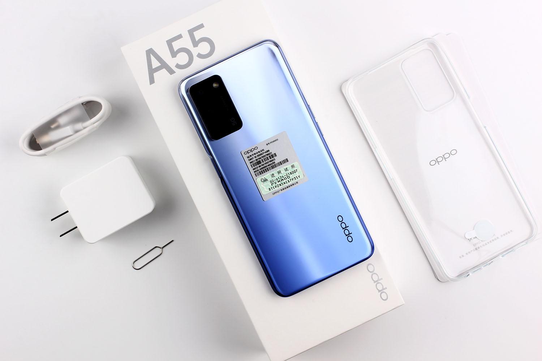 oppoa55怎么样值得买吗?双5G大电池OPPO A55开箱体验分享