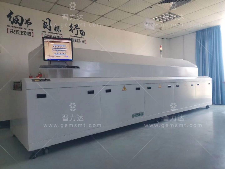 回焊炉是组成SMT生产线的主要设备