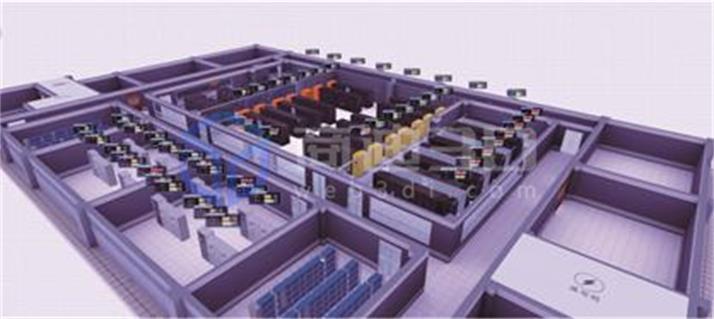 园区建筑3D建模三维模型,如何实现大屏可视化展示