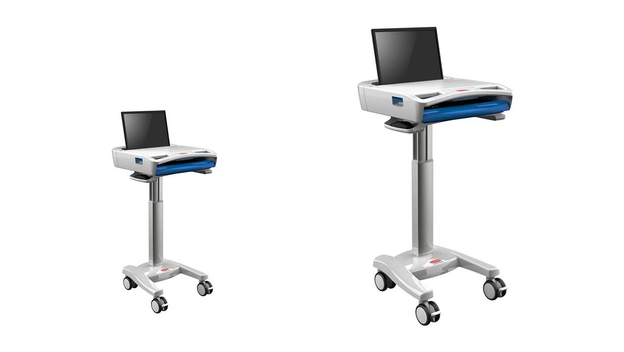 移动医疗台车设计可同时满足不同客户的需求