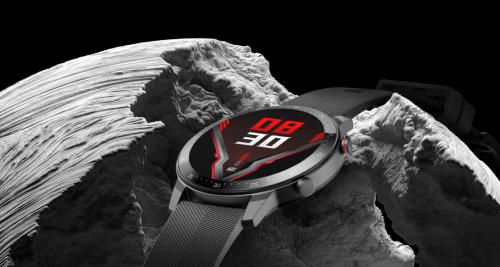 红魔手表震撼来袭:轻薄舒适、超长续航、首创足球热力图