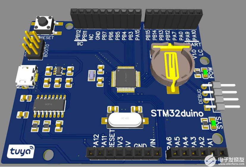 STM32duino 開發板